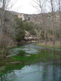 Río Abión en la provincia de Burgos