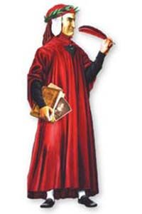 Dante Greeting Card: Renaissance Costumes, Medieval Clothing, Madrigal Costume: The Tudor Shoppe