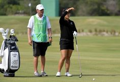 Lydia Ko of New Zealand checks the wind before hitting on the fifth hole in the final round of women's golf during the Rio 2016 Summer Olympic Games at Olympic Golf Course.    -  Best images from Aug. 20 at the Rio Olympics