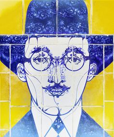 FERNANDO PESSOA - Indio San | #Illustration #design #art