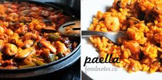 Jednoduchý recept na španělskou klasiku - domácí paellu de marisco (paellu z mořských plodů)