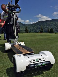 GolfBoard | Skateboarding, surfing on the #golf course