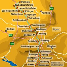Romantic Road, Germany. This is an amazing journey that we would do again in a heartbeat. Fantastic!