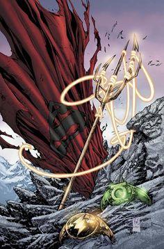 Justice League of America by Ken Lashley Comic Movies, Comic Books Art, Comic Art, Arte Dc Comics, Marvel Comics, Justice League, Univers Dc, Mundo Comic, Dc Comics Characters