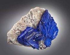 Azurite - Milpillas Mine, Cuitaca, Sonora, Mexico Size: 10.5 cm