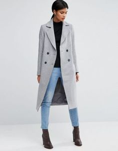 Acne Studios - Vallina mac natural / dusty pink - Coats & jackets ...