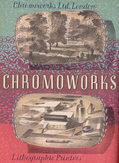 Chromoworks Ltd., London - brochure cover by Barnett Freedman, c1949