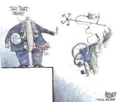 Editorial Cartoon by Matt Davies for Friday, May 26, 2017