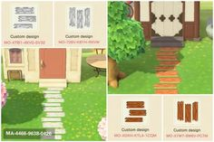 animal crossing qr codes paths Since many of you liked my wooden path, I made a white and dark version of it :) : horizondesigns Animal Crossing 3ds, Animal Crossing Villagers, Animal Crossing Qr Codes Clothes, Animal Games, My Animal, Animal Kingdom, Wooden Path, Acnl Paths, Motif Acnl