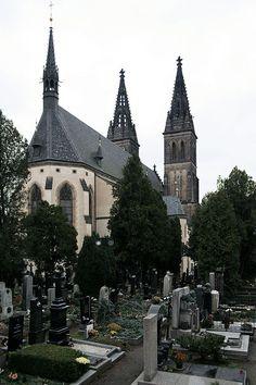 Vyšehrad Cemetery and Slavín (Vyšehradský hřbitov a Slavín)