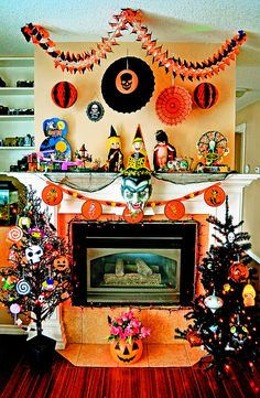 Going Mantle For Halloween!