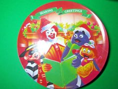 "2001 Ronald McDonald/'s Vintage Plate Halloween Party Plate Grimace 9-1//2"" Birdie"
