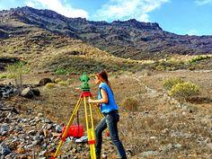 Levantamiento #topográfico en la zona de Los Navarros, municipio de Mogán, Gran Canaria  #topografo #topografia www.topografia.bgonavarro.es