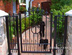 Iron / Aluminum Fence Photo Gallery | Iron Fence Shop