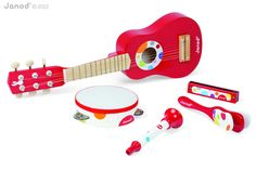 Buy Janod Live Music Set from our Musical Toys range at The Toy Centre. Includes 5 musical instruments for children. Wooden Musical Instruments, Music Instruments, Musical Toys, Baby Music, Music For Kids, Baby Kind, Christmas Gifts For Kids, Imaginative Play, Toddler Toys