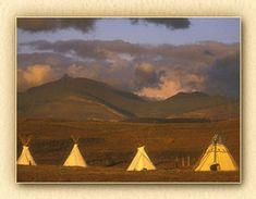 Lodgepole Gallery & Tipi Village....Montana.  Near Glacier National Park