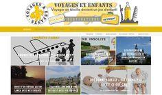 http://www.voyagesetenfants.com/ Un site Wordpress sur comment voyager avec des enfants. Très bien noté, apprécié et ergonomique !