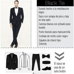 Codigo de vestimenta black tie