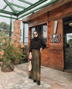 Modern Hijab Fashion, Muslim Women Fashion, Hijab Fashion Inspiration, Fashion 101, Casual Hijab Outfit, Ootd Hijab, Hijab Chic, Hijab Style Dress, Hijab Collection