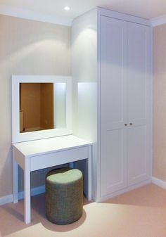 Contemporary/ classic wardrobes hand painted to compliment the colour scheme nice for guess room