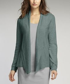 This Patina Open Organic Cardigan is perfect! #zulilyfinds