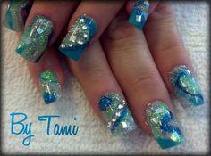 melissa heckathorn | Blue Nails | Nail Art | Pinterest