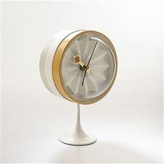 Nelson Table Clocks 2. Howard Miller Clock Company, Zeeland, Michigan.  Designed By George Nelson. | George Nelson | Pinterest | George Nelson,  Howard Miller ...