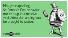 St Patrick's Day Humor | Time for the Holidays