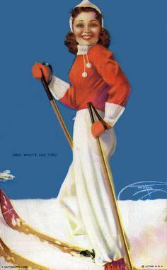 billy de vorss pin-up art - Bing Images Stunning Women, Beautiful, Calendar Girls, Pin Up Art, Bob Marley, Pin Up Girls, Retro Vintage, Red And White, Elegant