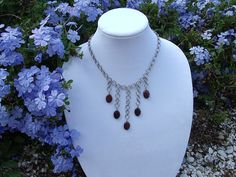 Tigers Eye Japanese Weave Necklace by RingedDesigns on Etsy, $32.98