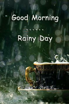 Good Morning Quotes : QUOTATION – Image : Quotes Of the day – Description Good Morning & Happy Friday! Another rainy day here in 🙂 Perfect sweater weather to enjoy a cup of coffee on the back porch! Rainy Morning Quotes, Good Morning Rainy Day, Good Morning Happy Friday, Good Morning Picture, Good Morning World, Morning Greetings Quotes, Good Morning Messages, Morning Pictures, Good Morning Good Night