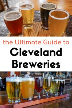 Cleveland has a lot of great craft breweries and taprooms. This Cleveland brewery guide will help you experience the best breweries in Cleveland! Market Garden Brewery, Cleveland Ohio, Columbus Ohio, Cincinnati, Cleveland Rocks, Ohio Breweries, Best Craft Beers, Best Beer, Travel Usa