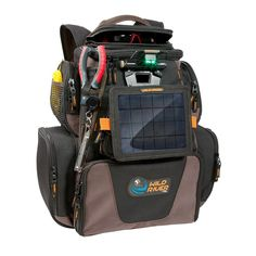 Wild River Tackle Tek™ Nomad XP™ Lighted Backpack w/USB Charging System, SP01 Solar Kit and Trays (52954) >>> You can find more details by visiting the image link.