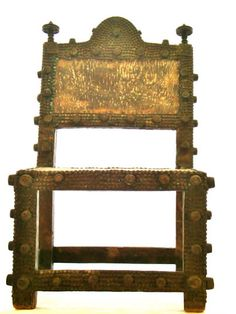 Item #159   Asipim chair  Ethnic Group: Asante  Country of Origin: Ghana, Africa by www.TribalArtTreasures.com