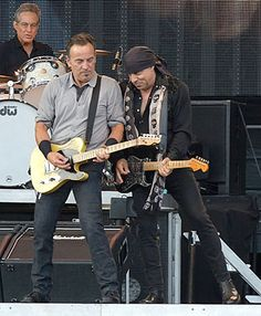 Bruce and Steven in Kilkenny, 2013.