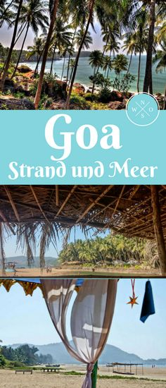 Goa has a lot of beaches because of its 100 km long coast. But which are really worthwhile and. Cool Places To Visit, Places To Travel, Travel Destinations, Places To Go, Next Holiday, Holiday Time, Goa, Travel List, Travel Guide