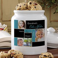 My Favorite Faces Personalized Cookie Jar