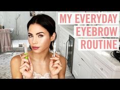 Jenna Dewan Uses This Drugstore Clear Mascara as Brow Gel for Fuller Eyebrows Clear Mascara, How To Apply Mascara, Applying Mascara, Tweezing Eyebrows, Threading Eyebrows, Natural Eyebrow Tutorial, Best Eyebrow Makeup, Eyebrow Brush, Makeup Tips For Oily Skin