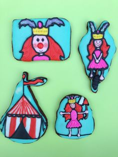 It's circus time :-) Circus koekjes