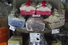 Aroha Natural Handmade soaps Handmade Soaps, Pyrex, Ice Cream, Crystals, Natural, Glass, Desserts, Food, No Churn Ice Cream