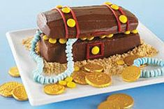 Hidden Treasure Chest Cake Recipe - Kraft Recipes