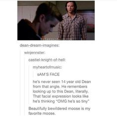 The moose doesn't recognize other kinds