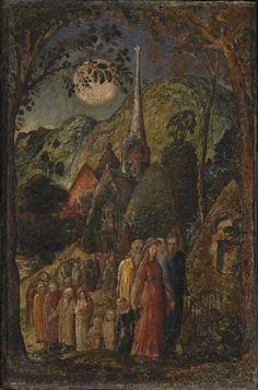 Samuel Palmer 'Coming from Evening Church', 1830
