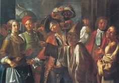 The Athenaeum - The Carnival in Naples (Giuseppe Bonito - )
