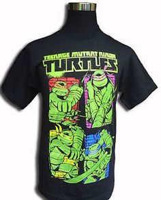 e1b15ccc tmnt nickelodeon t shirts | TMNT Nickelodeon Teenage Mutant Ninja Turtles  Graphic T Shirt Short .