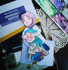 Pinterest: @çikolatadenizi Instagram: @halimenusevim Hijab Drawing, Islamic Cartoon, Anime Muslim, Hijab Cartoon, Kawaii Wallpaper, Step By Step Drawing, Anime Art Girl, Love Pictures, Anime Style