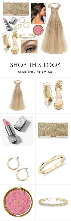 """""""Oscars 2012"""" by glitterunicorns-are-awesome ❤ liked on Polyvore featuring Marchesa, Anne Michelle, Burberry, Möve, New Look, Nordstrom, Blue Nile and Allurez"""