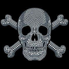 Skull & Crossbone Rhinestuds T-Shirt - ChoiceShirts T-Shirt Review