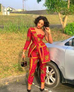 African dress for women African dresses Anakara styles African short dress African print Ankara short dress African Print Jumpsuit, African Print Clothing, African Print Fashion, Fashion Prints, Africa Fashion, African Prints, Tribal Fashion, African Print Dress Designs, Emo Fashion