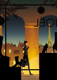 Spying on Parisians with Matthieu Forichon